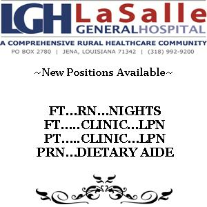 New Positions Available - January 8, 2013